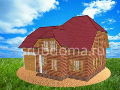 Проект двухэтажного дома 10 на 12