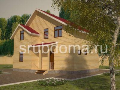 Проект двухэтажного дома 7 на 9