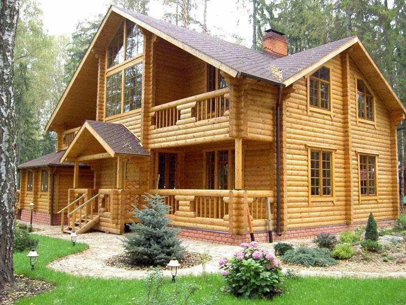 Деревянные бревенчатые дома