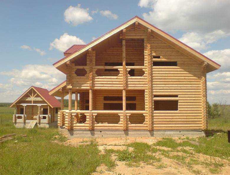 Типы деревянных домов