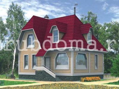 Дом 8х9,6 с удобной планировкой и котельной